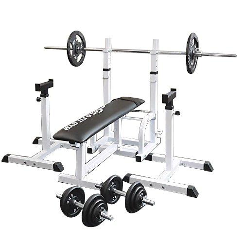 [スクワットパッド付]フォールディングジムセット アイアン70kg[WILD FIT スリムフィット] 送料無料 バーベル ダンベル ベンチプレス トレーニング器具 大胸筋 腹筋 上腕筋