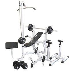 マルチセーフティージムセット 黒ラバー70kg[Slim Fit スリムフィット] 送料無料 バーベル ベンチプレス トレーニング器具 スクワット 大胸筋 腹筋
