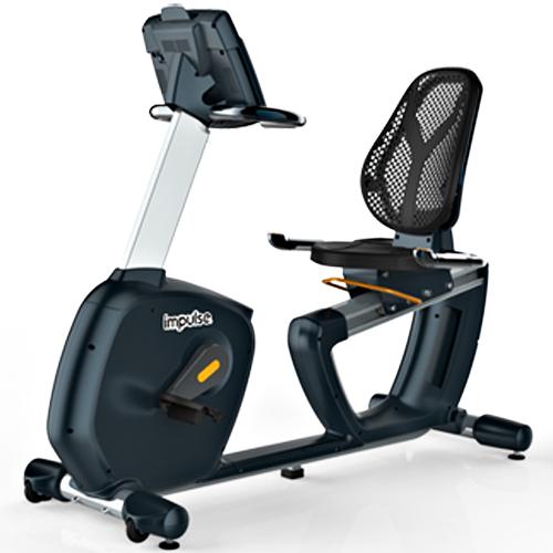 【impulse/インパルス】ライトコマーシャルリカベントバイク[Slim Fit Gym スリムフィット]有酸素運動 トレーニング器具