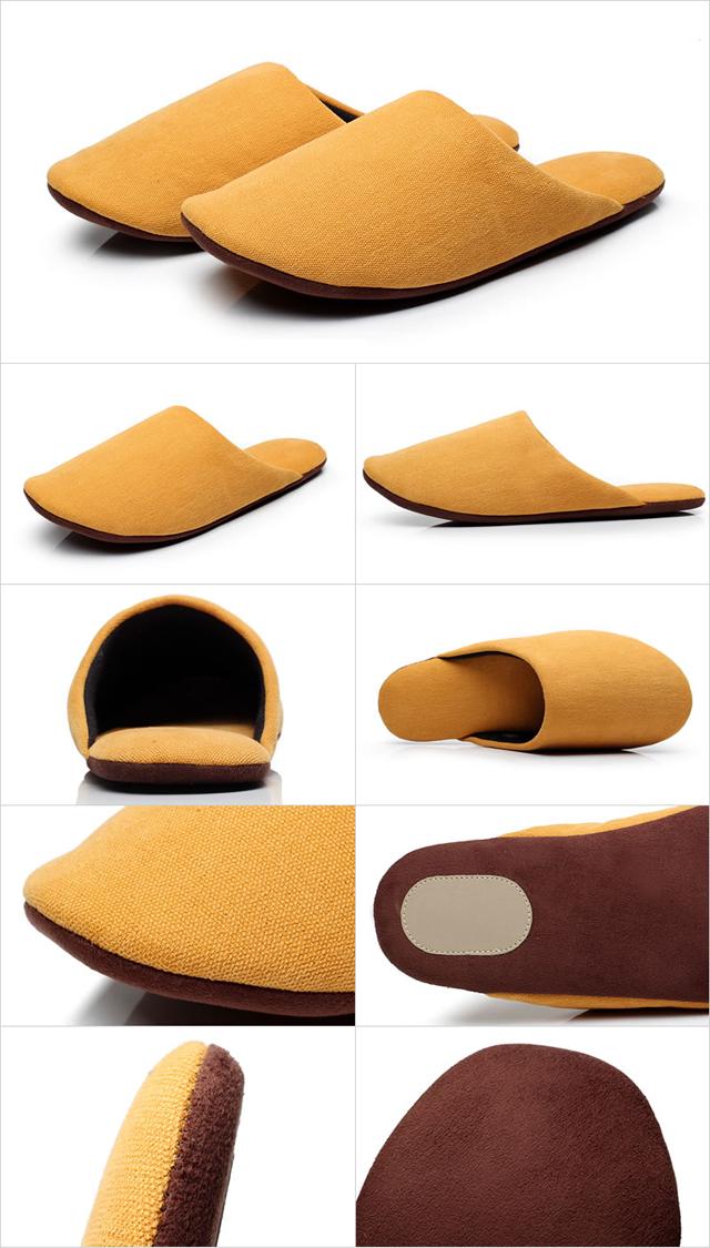 北欧コットン100%4足スリッパセット|洗える おしゃれ 室内 室内履き 来客用 美脚 フォーマル ルームシューズ かわいい レディース メンズ 人気 ギフト 前閉じ あす楽 +