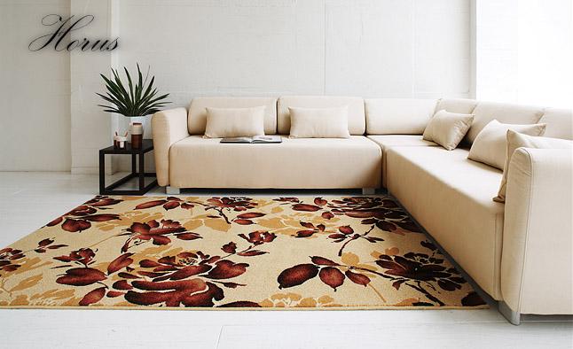 ラグ カーペット ラグマット 北欧 シャギーラグ rug 【スミノエ製】 ホルス 200cm×250cm