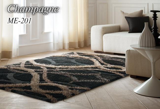 ラグ カーペット ラグマット 北欧 シャギーラグ rug 【スミノエ製】 ME-201 140cm×200cm