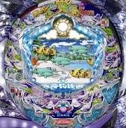 中古パチンコ実機 CRAスーパー海物語IN地中海SAF 甘デジ|安心保障/整備済み 50,000円以上で送料無料 家庭用 パチンコ台【中古】