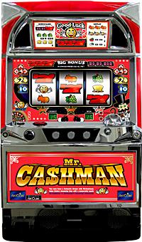 中古パチスロ実機 ミスターキャッシュマン |安心保障/整備済み 100,000円以上で送料無料 家庭用 スロット実機【中古】