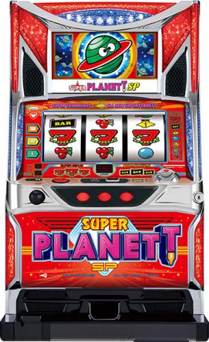 中古パチスロ実機 スーパープラネットSP/CC|コイン不要機セット|安心保障/整備済み 100,000円以上で送料無料 家庭用 スロット実機【中古】