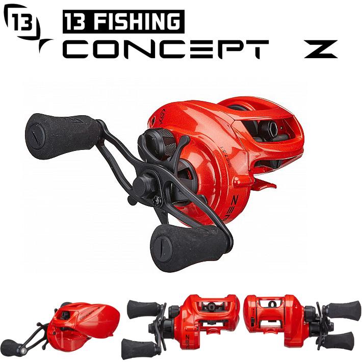 13Fishing Concept Z 13フィッシング コンセプトZ ベイトリール話題のベアリング0のリール送料無料