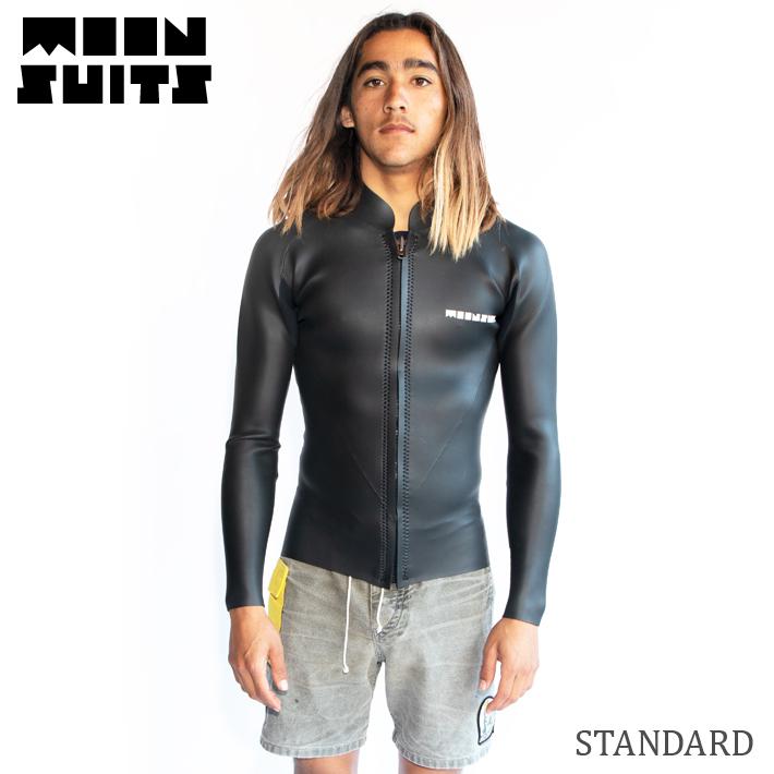 MOON SUITS ムーンウェットスーツ L/S ジャケット 2mm Moon Wetsuits ムーンスーツ Joel Tudor ジョエル・チューダー ジョエルチューダー サーフィン サーフボード