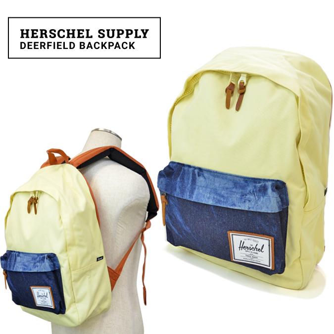 【クーポン利用で最大1,000円OFF】 Herschel Supply(ハーシェル サプライ) Deerfield BackPack リュック バックパック バッグ BAD HILLS WORK SHOP COLLECTION