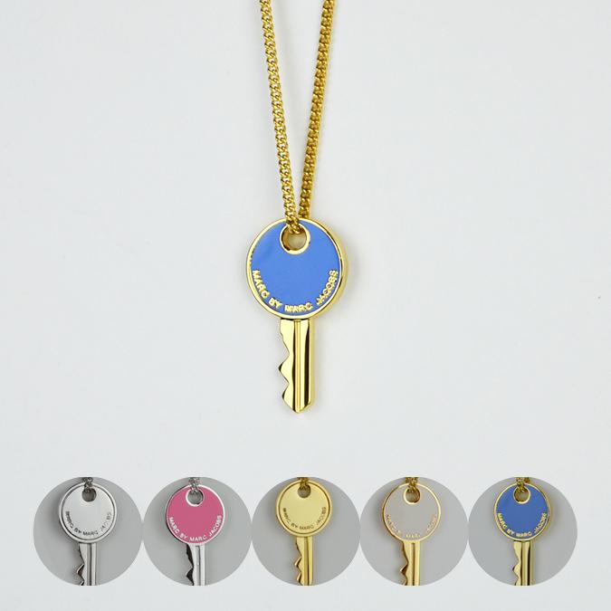【割引クーポン配布中】 MARC BY MARC JACOBS (マーク バイ マーク ジェイコブス) Lock In Key Pendant Necklace ペンダント ネックレス レディース 【単品購入の場合はネコポス便発送】