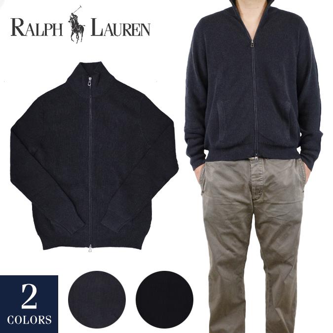 【割引クーポン配布中】 POLO Ralph Lauren ポロ ラルフローレン Cotton Full-Zip Sweater ジップセーター