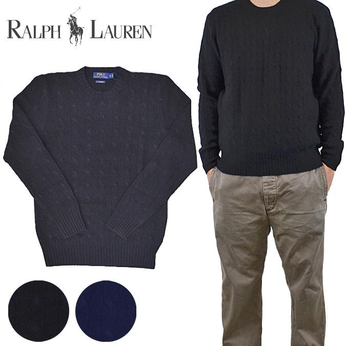 【割引クーポン配布中】 POLO Ralph Lauren ポロ ラルフローレン Cable-Knit Cashmere Sweater カシミア セーター ケーブルニット