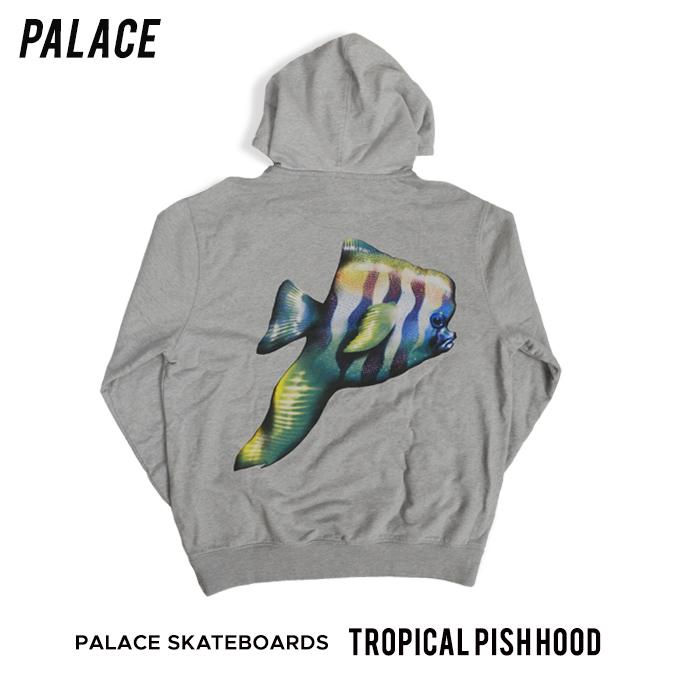 【割引クーポン配布中】 PALACE SKATEBOARDS / パレス スケートボード TROPICAL PISH HOOD プルオーバー パーカー スウェット フリース メンズ ストリート スケート 【バーゲン】
