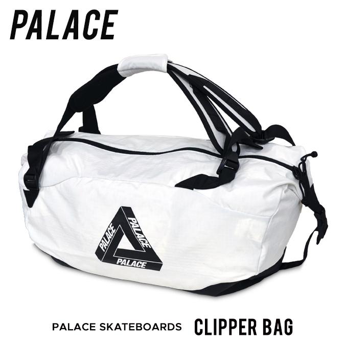 【割引クーポン配布中】 PALACE SKATEBOARDS / パレス スケートボード CLIPPER BAG ボストンバッグ ダッフルバッグ バックパック リュック 鞄 メンズ レディース ユニセックス 【バーゲン】