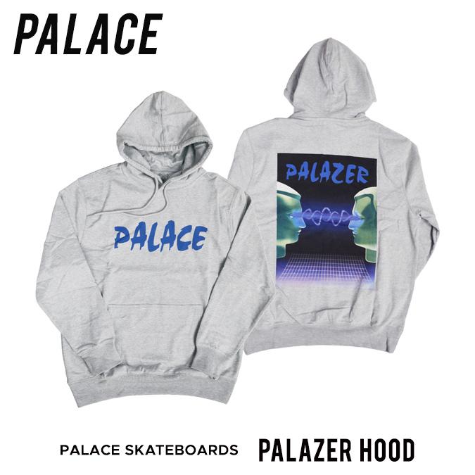 【割引クーポン配布中】 PALACE SKATEBOARDS / パレス スケートボード PALAZER HOOD プルオーバー パーカー スウェット フリース メンズ ストリート スケート 【バーゲン】
