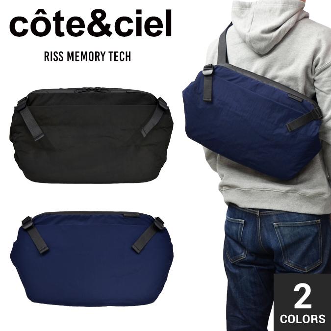 【割引クーポン配布中】 COTE&CIEL コートエシエル コートシエル Riss Memory Tech メッセンジャーバッグ ショルダーバッグ ボディバッグ バックパック リュック 鞄 メンズ レディース ユニセックス 28639 / 28416