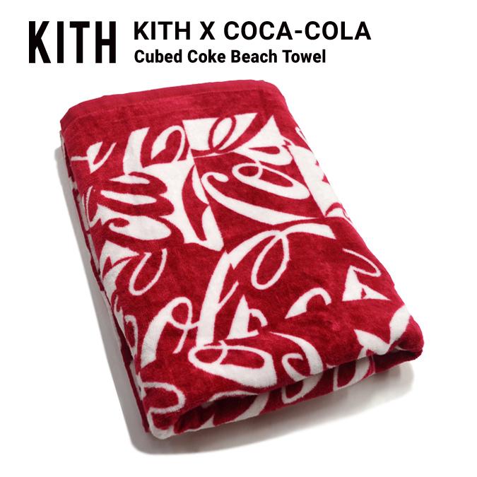 8e87db30 KITH NYC kiss Empire City COCA-COLA CUBED COKE BEACH TOWEL Coca-Cola beach  ...