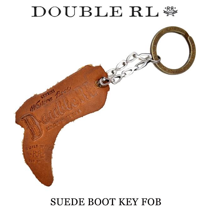 【割引クーポン配布中】 RRL by Ralph Lauren ダブルアールエル ラルフローレン Suede Boot Key Fob キーホルダー キーリング アクセサリー メンズ レディース ユニセックス