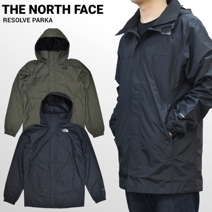 【割引クーポン配布中】 THE NORTH FACE ノースフェイス ジャケット RESOLVE PARKA JACKET マウンテンパーカー ナイロンジャケット メンズ アウター S-XL