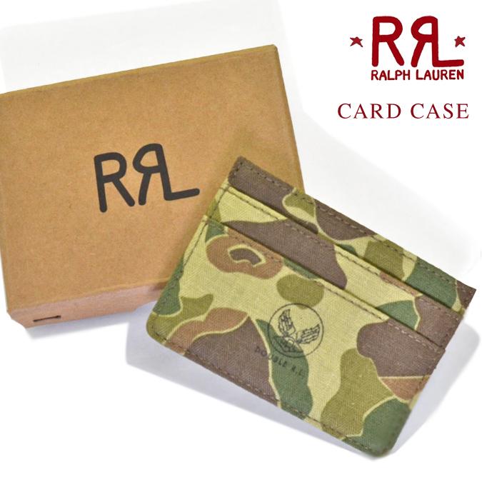 【割引クーポン配布中】 RRL ダブルアールエル Ralph Lauren ラルフローレン CAMO HERRINGBONE CARD CASE カモ ヘリンボーン カードケース カード入れ パスケース メンズ レディース ユニセックス アメカジ