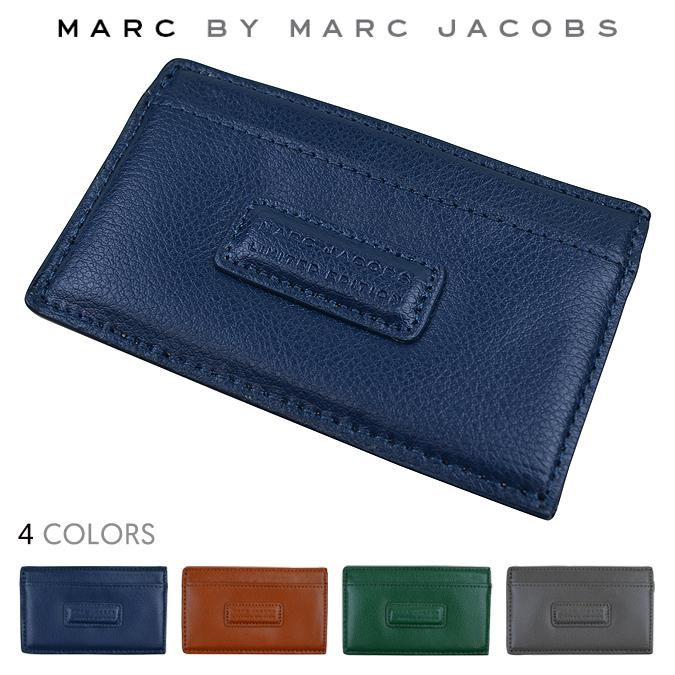 【割引クーポン配布中】 MARC JACOBS/マーク ジェイコブス Limited Edition Leather ID Case レザーカードケース パスケース 定期入れ