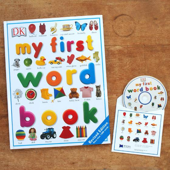 SING&SAY CD付き 英語絵辞典 My First Word Book 【英語 絵本 勉強 子供 英語辞典】