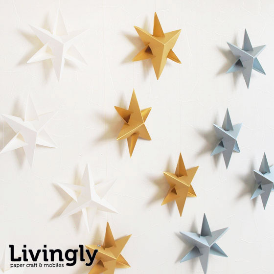 The Danish Livingly living Lee star mobile which has a cute ornament  Christmas decoration mobile North Europe star star fashion