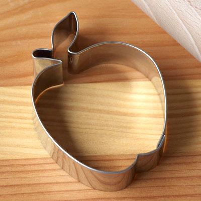 かわいいりんごのクッキー型 ドイツのスタッダー社製 ドイツ Stadter スタッダー クッキー型 L 現品 メール便対象品 りんご 公式ストア