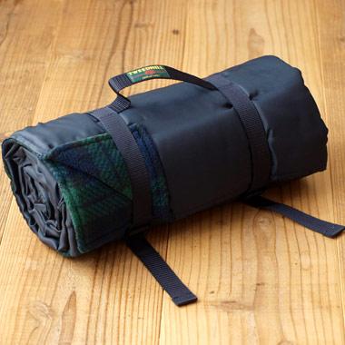 イギリス Tweedmill ツイードミル 防水シート付きラグ レジャーシート