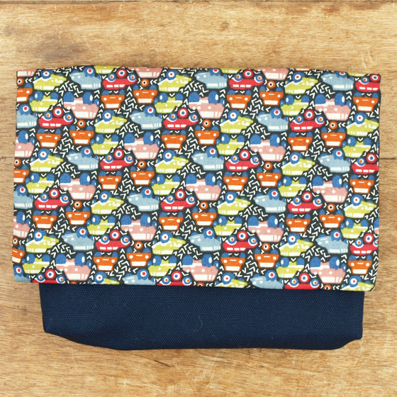 Use of liberty cloth made in child boy Japan of the moving pocket clip woman