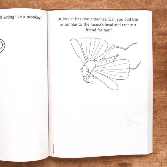 Hungry Caterpillar Coloring Book