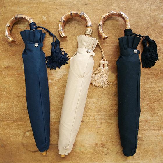 日本製の晴雨兼用レディース折りたたみ傘 受賞店 WAKAO ワカオ 日本製 晴雨兼用 折りたたみ傘 コットンピケ 日傘 おしゃれ 雨傘 返品送料無料 シンプル レディース 折り畳み傘