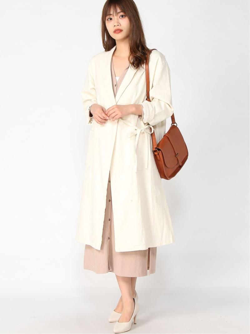[Rakuten Fashion]カシュクールコート Samansa Mos2 サマンサモスモス コート/ジャケット ロングコート ホワイト グレー ベージュ【送料無料】