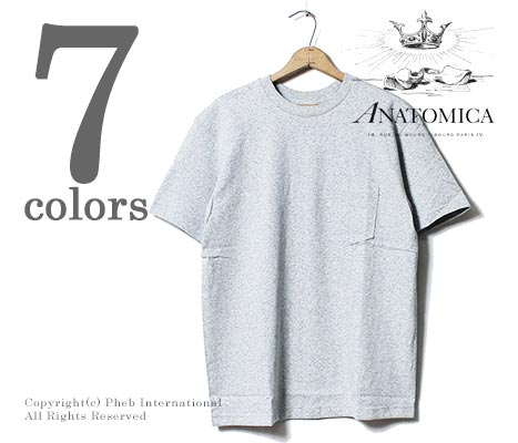 ANATOMICA 在美国口袋 T 恤戳 T (ANATOMICA-POCKET-T-USA (530-501-18))