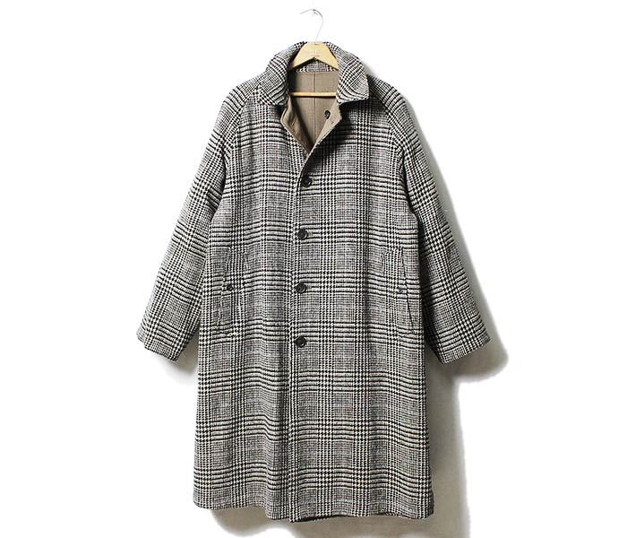 ANATOMICA made in Japan '' Venetian' ' reversible single Raglan coat 2 overcoat (530-512-24/530-502-22)