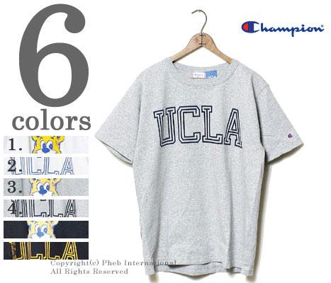 CHAMPION American-made '' UCLA' ' heavyweight T shirts