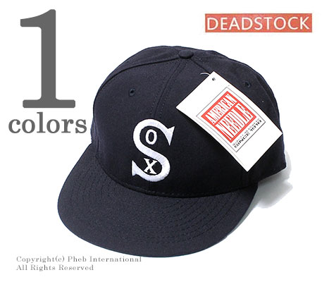 ce1917fb09f922 DEADSTOCK AMERICAN NEEDLE 90s MLB Chicago White Sox baseball cap  (AMERICANNEEDLE-SOX-BBCAP ...