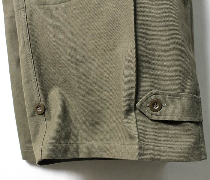 Earlier period of French military M47 M-47 cargo pant dead stock DEADSTOCK  50s field underwear (FRENCH-M47-PANTS-EARLY)