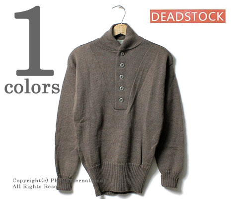 John Ownbey Company US Army Military Style 5 Button Sweater 100/% Knitted Wool Made in USA