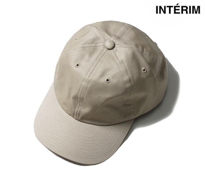 メンズ レディース 日本製 MADE IN JAPAN インテリム 返品不可 輸入 INTERIM ハイカウント ベンタイル 帽子 VENTILE ベースボールキャップ 6パネル キャップ HIGH 6PANELS IT21A293 COUNT CAP