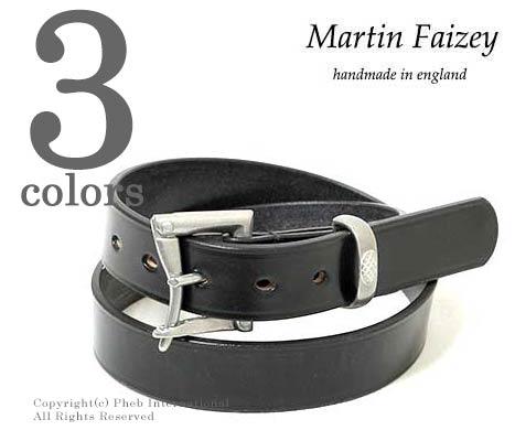 マーティンフェイジー/MARTIN FAIZEY 英国製 ''1.25inch BRIDLE''クイックリリースレザーベルト(125-QUICKRELEASE-BRIDLE)