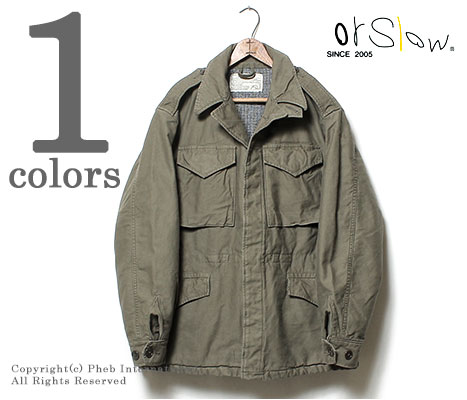 orSlow (MADE IN JAPAN)'' M-1943' ' military jacket