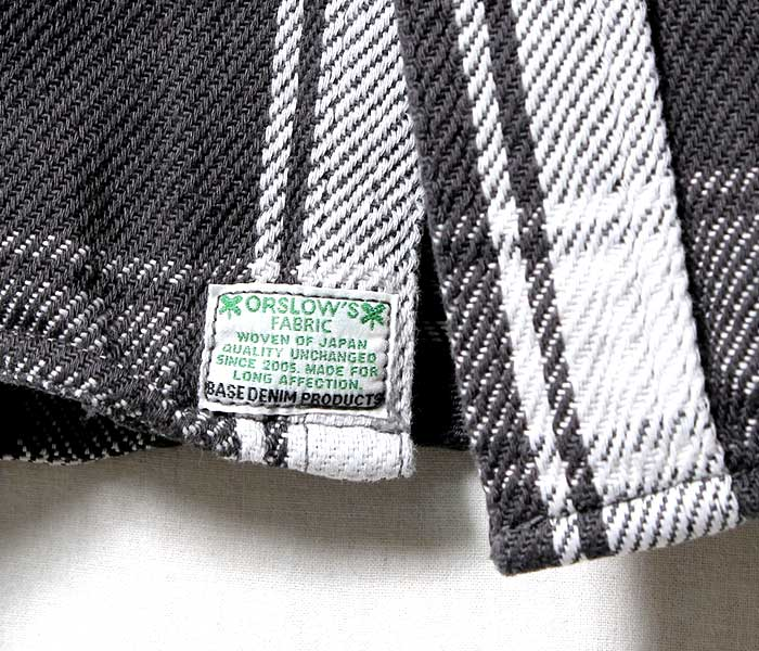 orSlow made in Japan vintage fit flannel shirt (03-V8072-161)