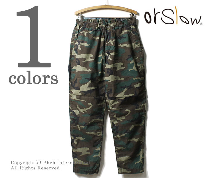 a787db5055f6fc Pheb International: orSlow made in Japan Woodland camoflouge New ...