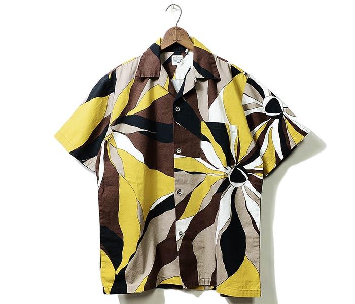 Pheb international: orslow made in japan print hawaiian shirt.