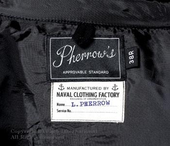 PHERROW'S (PHERROWS) made in Japan wool CPO shirt jacket (P-CPO)