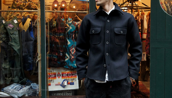 PHERROW'S(PHERROWS) 羊毛衬衫 夹克(P-CPO)