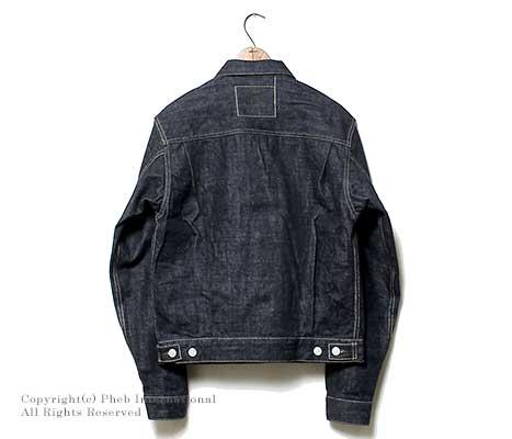 菲洛斯/PHERROW'S(PHERROWS)50年代复刻版牛仔夹克 · 牛仔夹克衫(407J-OW一次洗水)