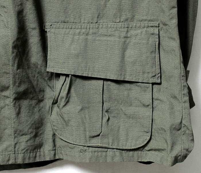 DEADSTOCK SEILIN Co. 1969 jungle fatigue jacket Ripstop (FATIGUE-JACKET-700062013)