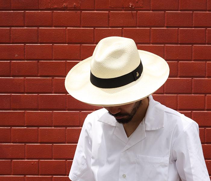 c30adc89 ... ECUA ANDINO classic panama hat extra long brim MADE IN ECUADOR  (EA-ClASSIC- ...