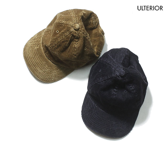 45a517900a06b ULTERIOR 2019FW SUPIMA CORDUROY 6 PANELED CAP MADE IN JAPAN (ULHT01-19C05U)  ...